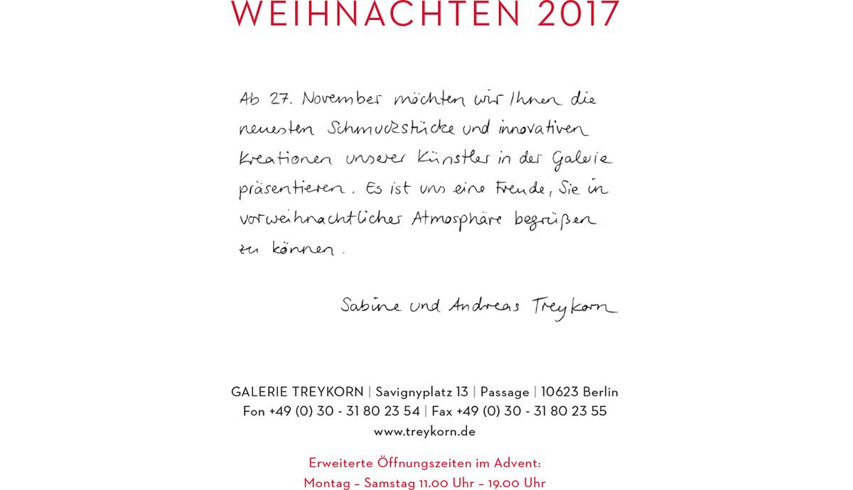 TREYKORN | SCHMUCK | GALERIE | BERLIN