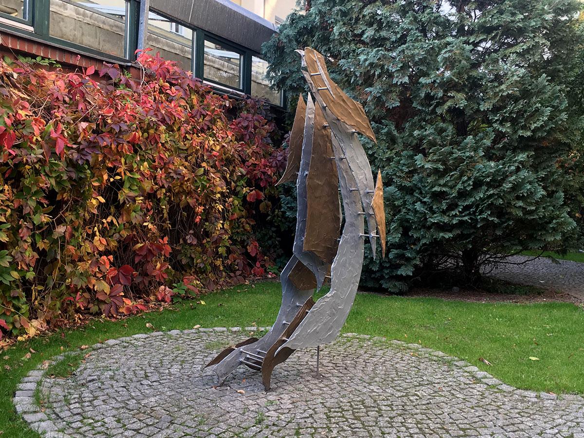 WENN TUCH TANZT... Skulptur: Stephan Hüsch © 2017